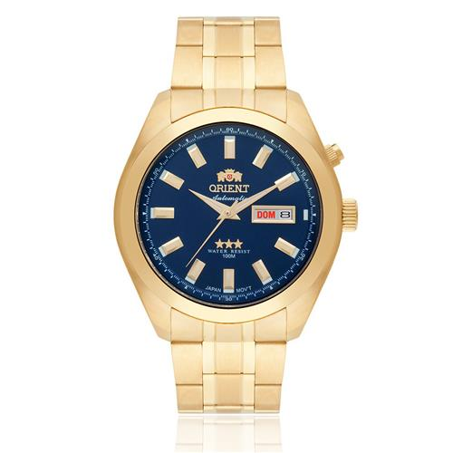 aac51349295 Relógio Masculino Orient Automatic 469GP075 D1KX Dourado