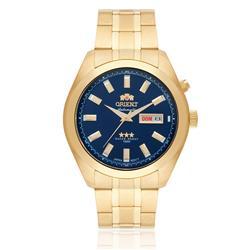 Relógio Masculino Orient Automatic 469GP075 D1KX Fundo Azul