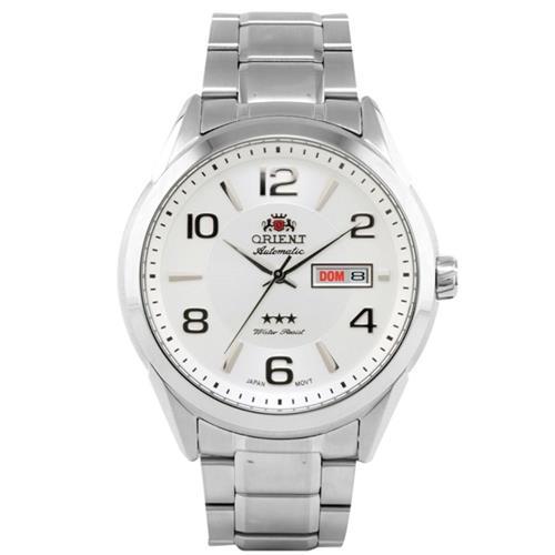 Relógio Masculino Orient Automatic 469SS052 S2SX Fundo prateado