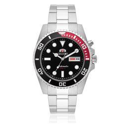 Relógio Masculino Orient Automatic 469SS068 P1SX Fundo Preto
