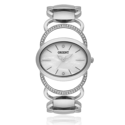 Relógio Feminino Orient Unique FBSS0042 B1SX Aço com cristais