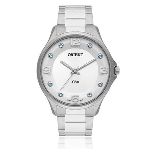 Relógio Feminino Orient Analógico FBSS0054 SASX Cristais