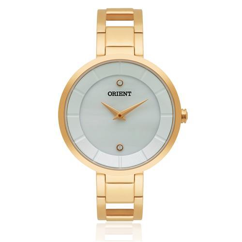 eb42fb05c9187 Relógio Feminino Orient Analógico FGSS0049 B1MX Kit com pulseira em couro