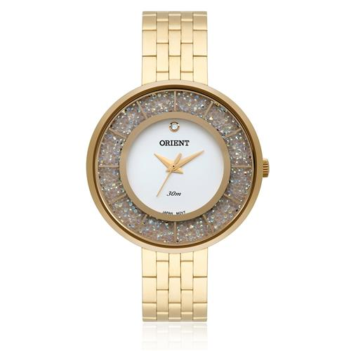 128c1edbc99 Relógio Feminino Orient Analógico FGSS0055 S1KX Dourado