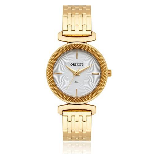 4077e470f42 Relógio Feminino Orient Analógico FGSS1138 B1KX Dourado