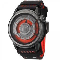 Relógio Yankee Street Black Angels YS30345V Couro Preto