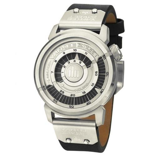 Relógio Masculino Yankee Street Black Angels YS30274T Couro