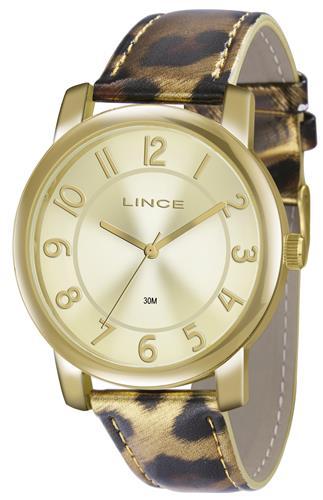 Relógio Feminino Lince Analógico LRC4336L K160C2MP Couro