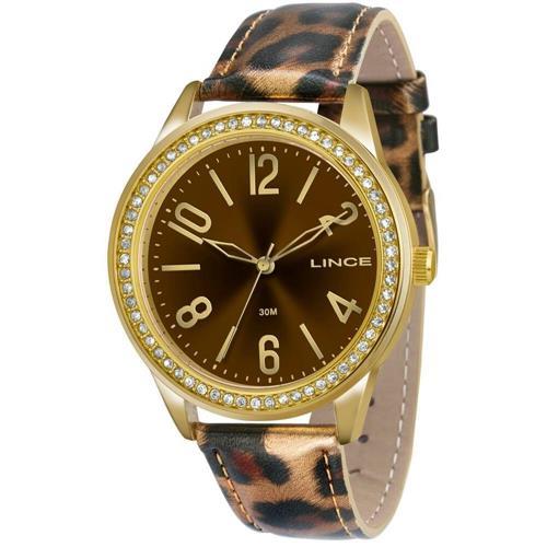 Relógio Feminino Lince Analógico LRC4338L K153N2MP Couro
