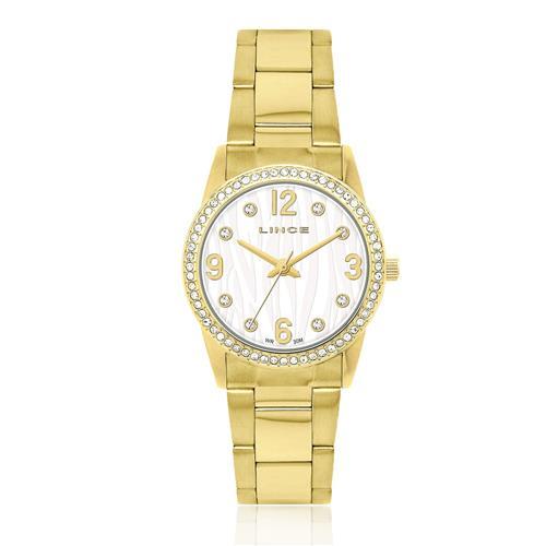 Relógio Feminino Lince Analógico LRG4052L S2KX Dourado