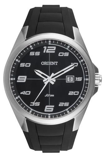 e1507058cdd Relógio Masculino Orient Analógico MBSP1022 PBPX Borracha