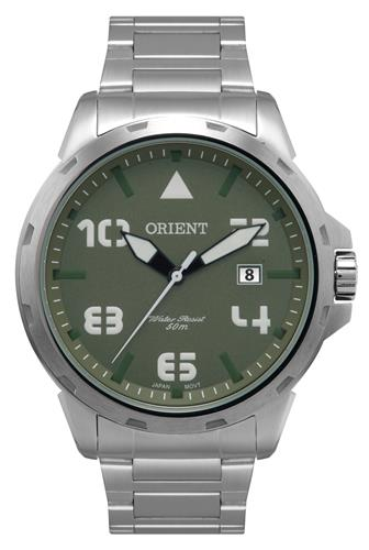 Relógio Masculino Orient Analógico MBSS1195A E2SX Fundo Verde