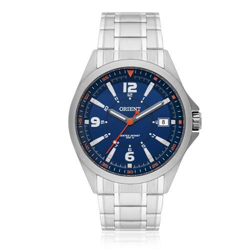 Relógio Masculino Orient Analógico MBSS1270 D2SX Fundo Azul
