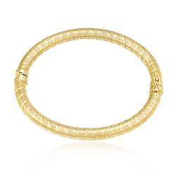 Bracelete Algema Trabalhado em Ouro Amarelo