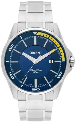 Relógio Masculino Orient Analógico MBSS1296 D1SX Fundo Azul