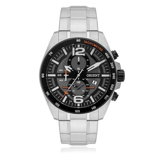 Relógio Masculino Orient Analógico MBSSC164 G2SX Fundo Preto
