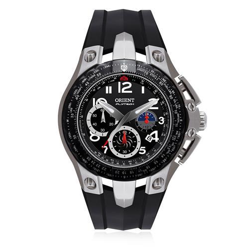 0967776b837 Relógio Masculino Orient Flytech MBTPC002 P2PX Borracha