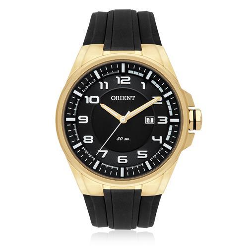 Relógio Masculino Orient Analógico MGSP1003 P2PX Dourado