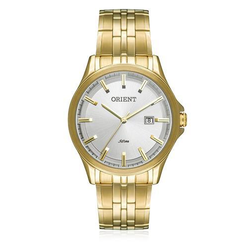 Relógio Masculino Orient Analógico MGSS1079 S1KX Dourado