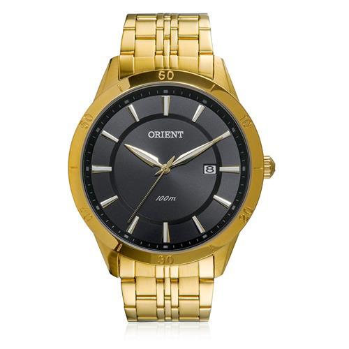 350acc900f8 Relógio Masculino Orient Analógico MGSS1087 P1KX Dourado