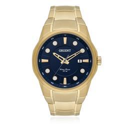 Relógio Masculino Orient Analógico MGSS1121 D1KX Fundo Azul