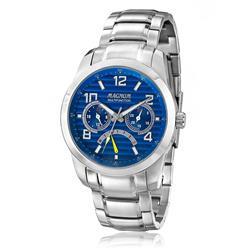 Relógio Masculino Magnum Multifunction MA32630F Fundo Azul