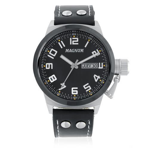 f34c3a41458 Relógio Masculino Magnum MA32765T Fibra de Carbono