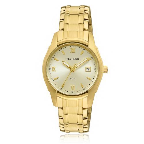 2ae800ab93bef Relógio Feminino Technos Elegance Boutique 2015BYP 4X Dourado