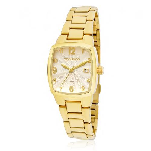 27da74c52ef52 Relógio Feminino Technos Elegance Boutique 2015CAF 4K Dourado