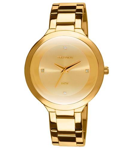 6362939457c Relógio Feminino Technos St. Moritz 2035IIA 4X Dourado