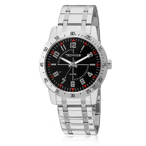 f6595bcb64a EZ Relógio Masculino Technos Performance Militar 2035LYG 1P Aço