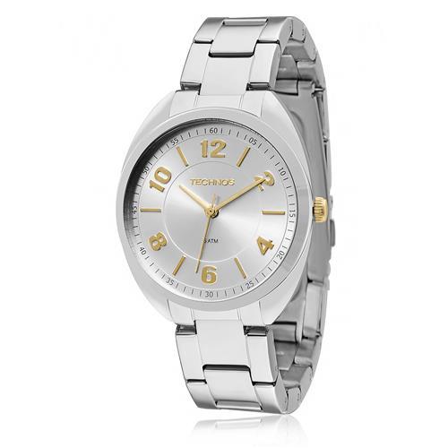 Relógio Feminino Technos Elegance 2035MCG 1K Aço c998da44ad