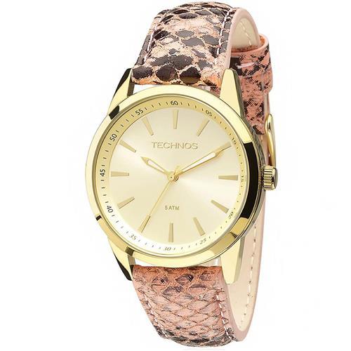 434f6e2926d Relógio Feminino Technos Trend 2035MCS 2X Couro