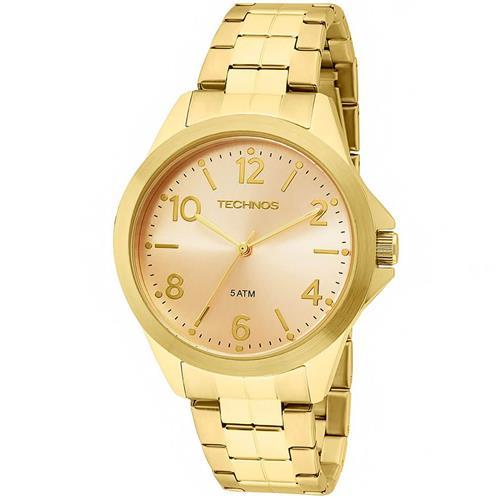 8b2b24edfc3 Relógio Feminino Technos 2035MEK 4X Dourado
