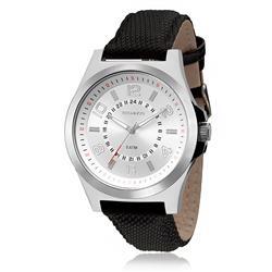 Relógio Masculino Technos Steel Analógico 2035MFA/0K Couro