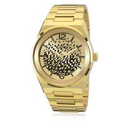 ee204f427b1 Relógio Feminino Euro Camadas Analógico EU2039IW 4D Dourado