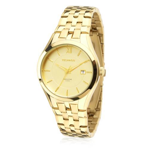 bb1d1f6001f3f Relógio Feminino Technos Classic Executive 2115KMY 4X Dourado