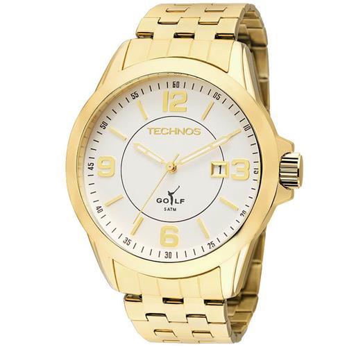 fc27ea75e2a Relógio Masculino Technos Classic Golf 2115KND 4K Dourado