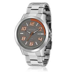 Relógio Masculino Technos Performance Racer 2115KNE/1L Aço