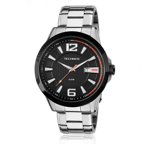 Relógio Masculino Technos Performance Racer 2115KNV/1P Aço