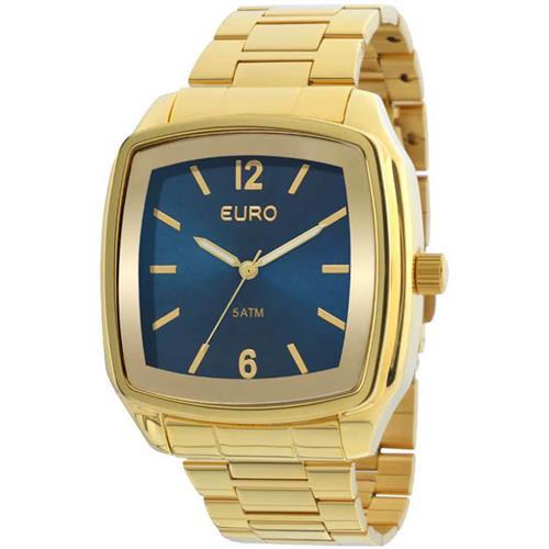 efb933db189ad Relógio Feminino Euro Basic Analógico EU2039ICTD 4D Dourado