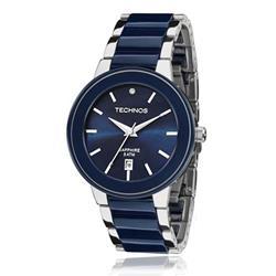 95d67fa903e Relógio Feminino Technos Ceramic Sapphire 2115KRT 1A Azul