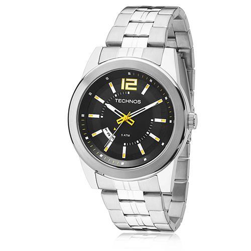 Relógio Masculino Technos Performance Racer 2115KSV/1Y Fundo Preto