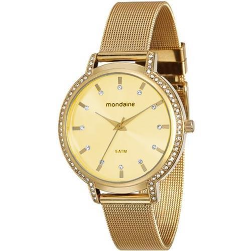 Relógio Feminino Mondaine 76508LPMGDE4 Dourado