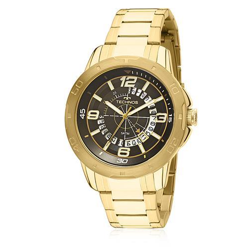 0fe0cca918434 Relógio Masculino Technos Racer 2315ACL 4P Dourado