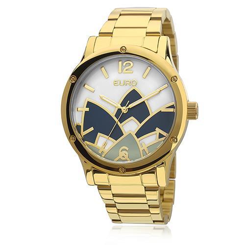 Relógio Feminino Euro Madrepérola Analógico EU2035YCX/4D Dourado