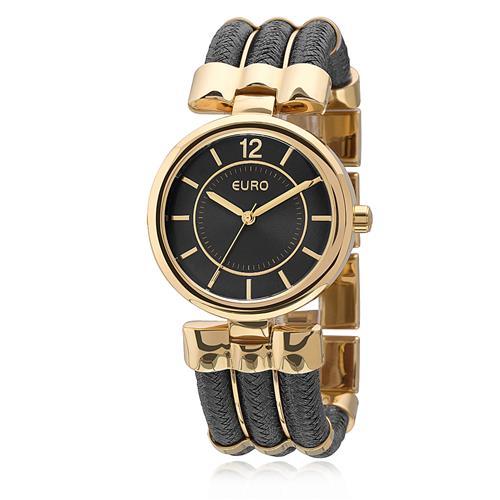 db527f4b109 Relógio Feminino Euro Corda Analógico EU2035YCR 4P Dourado