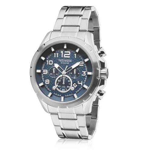 Relógio Masculino Technos Performance Skymaster JS25BH 1A Aço 1f015e7176