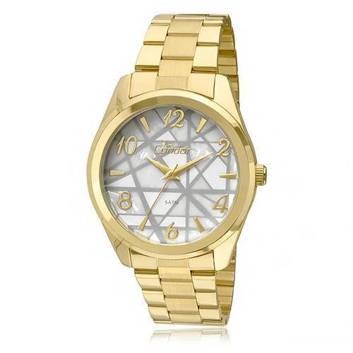 ff928bb2771 Relógio Feminino Condor Mosaico por Anitta CO2035KLW 4C Fundo Branco