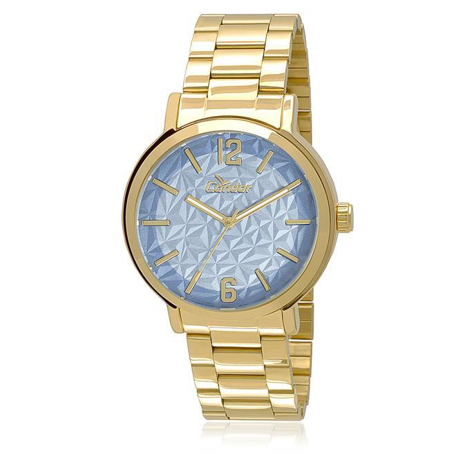 Relógio Feminino Condor Analógico CO2035KMV 4A Dourado 2cc8d1cb42